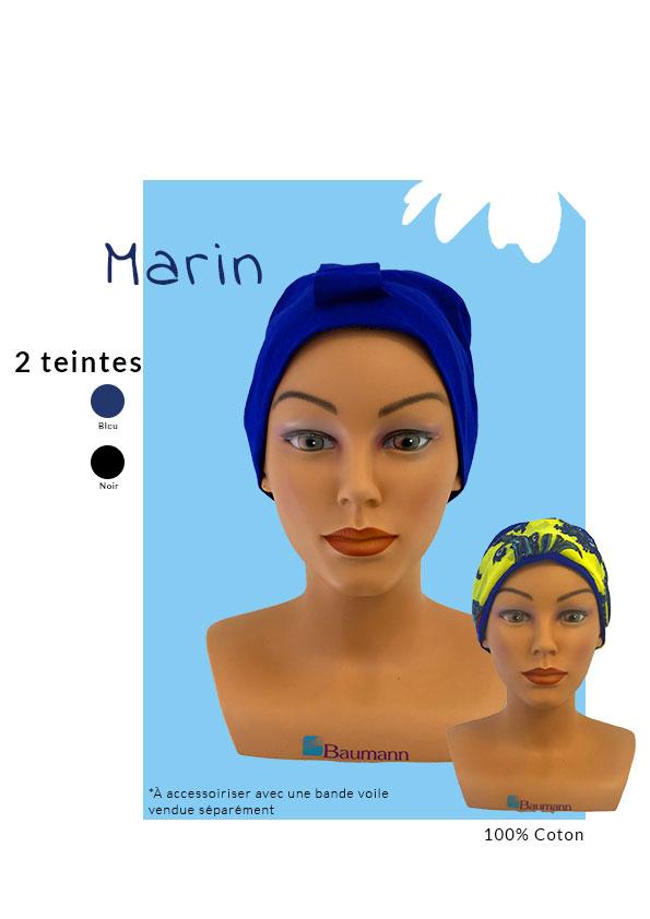 Turban Marin