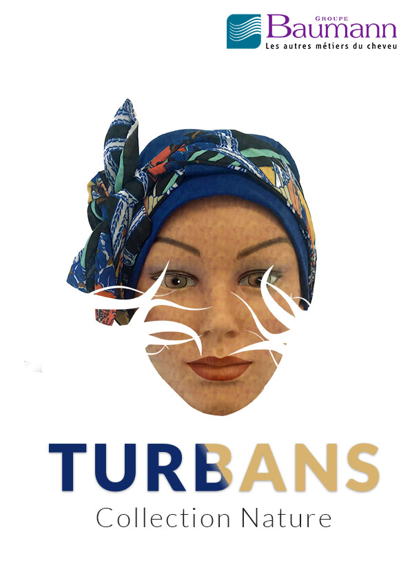 Page de garde du catalogue turban Nature 2019